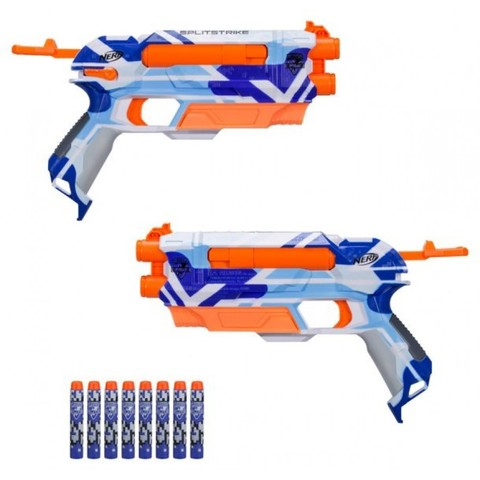 N-Strike Elite Split Strike Blaster - 2 пистолета в наборе