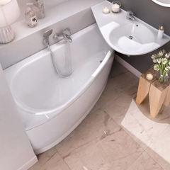 Акриловая ванна Ravak AVOCADO CH01000000 160х75 R белая
