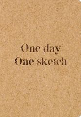 Скетчбук. One day, one sketch