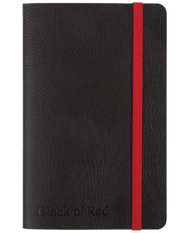 Блокнот Black n' Red Business Journal A6 (10*15см) линейка 72л гибкая картонная обложка