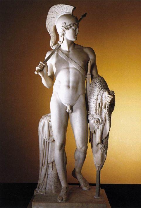 Бертель (Альберт) Торвальдсен. Ясон с золотым руном. 1803. Мрамор. Высота 242 см. Дания. Копенгаген. Музей Торвальдсена.