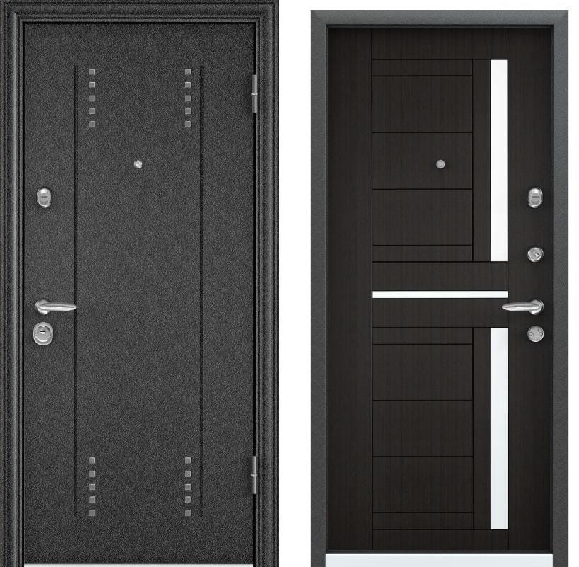 Входные двери Torex Super Omega 10 RP-3 черный шелк RS-2 ПВХ венге generated_image-3.jpg
