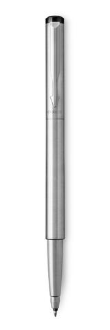 Ручка-роллер Parker Vector Т03, цвет: Steel, стержень: Mblue123