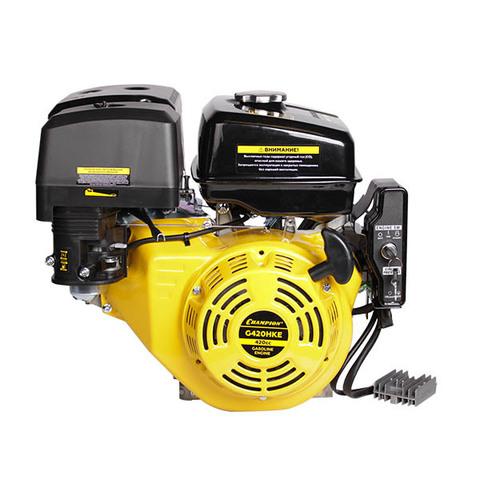 Двигатель CHAMPION G420HKE, электростартер, катушка