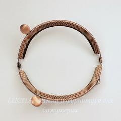 Фермуар 8,8х5,2 см (цвет - античная медь)