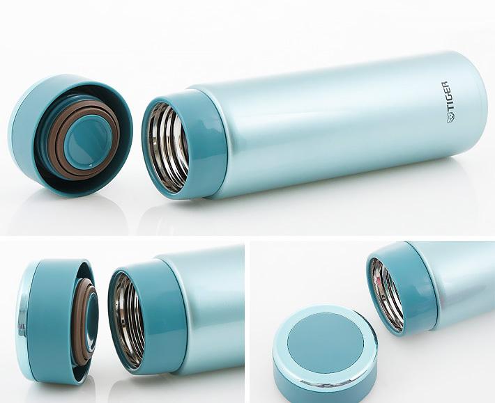 Термос Tiger MMW-A (0,36 литра), голубой