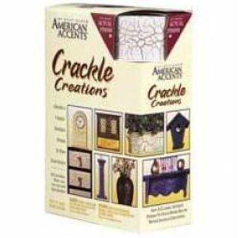 Crackle Creations кракелюр, эффект трещин