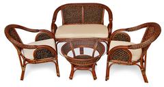 Кресло Шератон (Sheraton) (с подушкой) — Коричневый