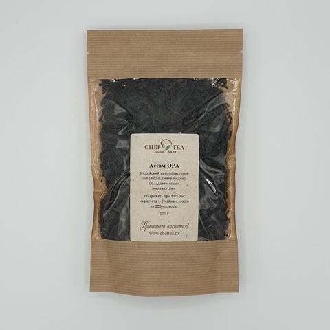 Черный чай АССАМ OPA CHEF TEA, 100 гр