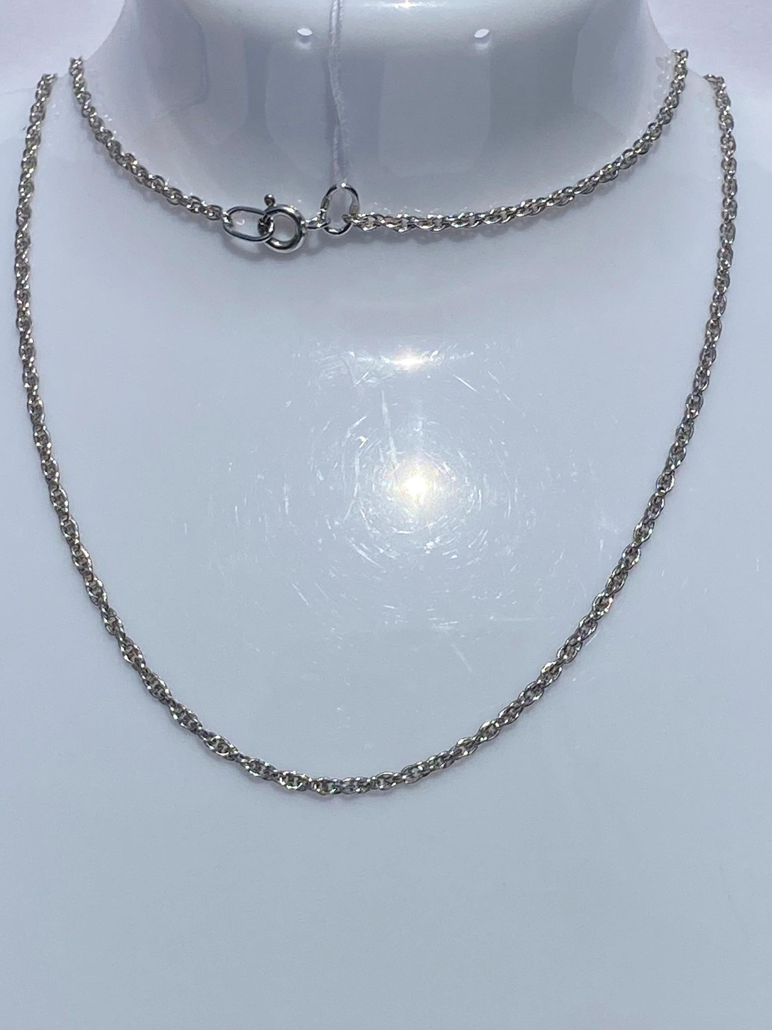 Кордовая 0,4 (серебряная цепочка)