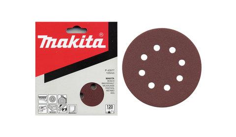 Шлифовальный диск с липучкой  Makita P100/125 мм