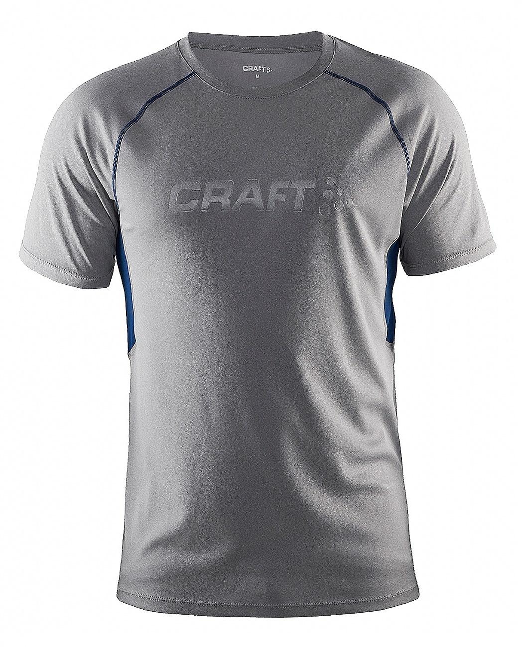 Мужская беговая футболка Craft Prime Run (1902497-2950) серая