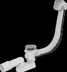 Слив-перелив для ванны автомат Alca Plast A51CRM, хром