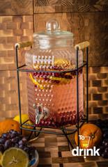 Диспенсер для напитков на подставке «Дружба», 4 литра