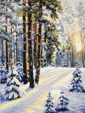 OVEN-727 Зимняя дорога