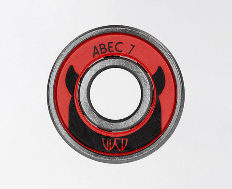 Подшипники WICKED ABEC 7 FREESPIN