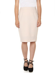 U248-2 юбка женская, бежевая