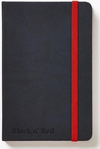 Блокнот Black n' Red Business Journal A6 (10*15см) линейка 72л твердая обложка