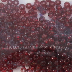 90120 Бисер 8/0 Preciosa прозрачный бордово-красный