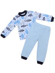 A31 пижама детская, голубая
