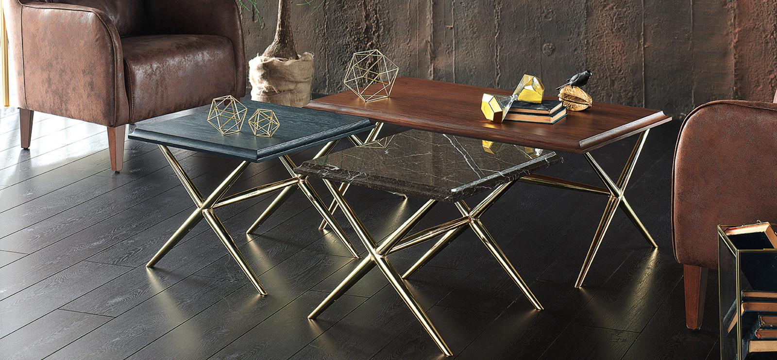 Кофейные столики Elegante ENZA HOME