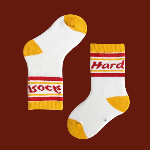 Детские носки утепленные 6-8 лет 19-22 см