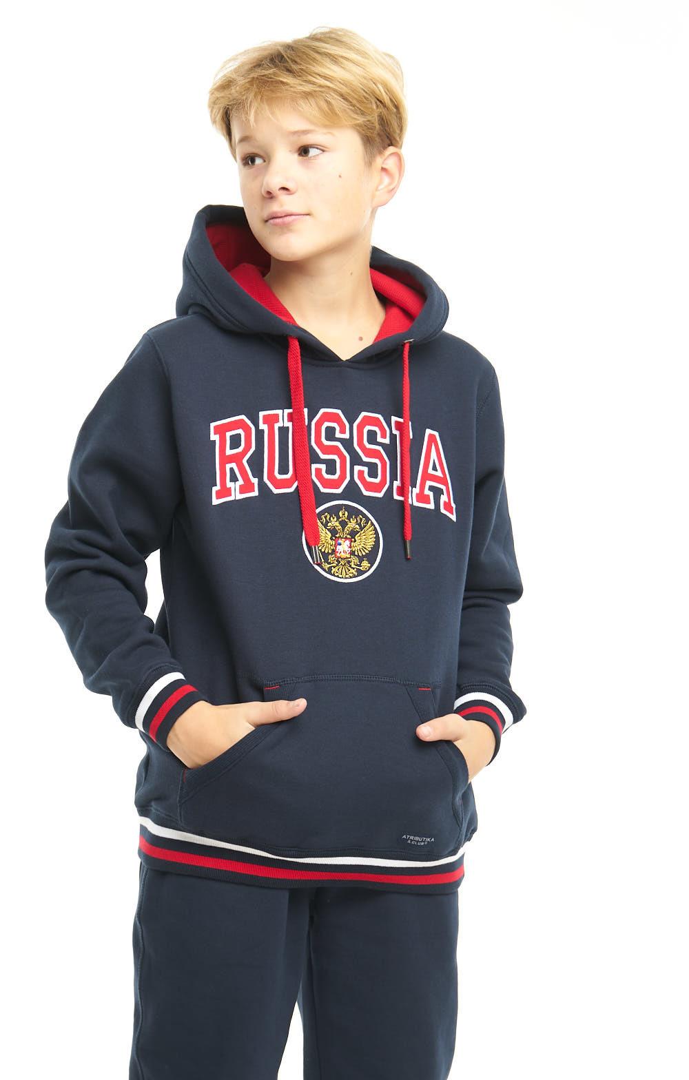 Толстовка Россия (подростковая)