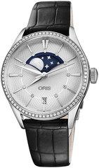 Женские швейцарские часы Oris 01 763 7723 4951-07 5 18 64FC
