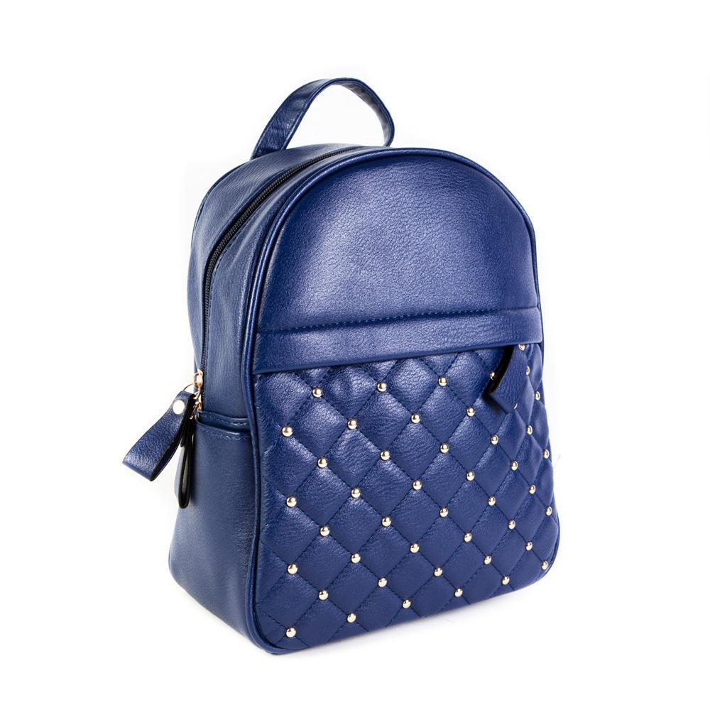 Женский средний рюкзак 23х28,5х12 см синий 4798-5