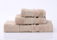 Emily-5  бежевое махровое  полотенце Valtery