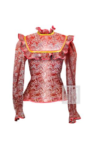 Фото Казачий Праздничный жакет женский рисунок Выбирайте лучший казачий костюм в Мастерской Ангел. Мы специализируемся на народной, в том числе, казачьей одежде!