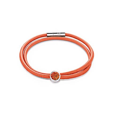 Браслет Coeur de Lion 0118/31-0221 цвет оранжевый