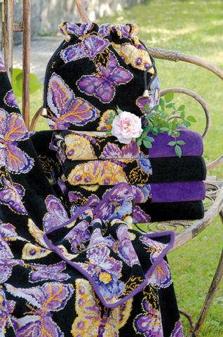 Полотенце 75x150 Feiler Mariposa 54 lila