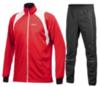 Мужской разминочный лыжный костюм Craft Stretch Touring (1900991-1902834) красный