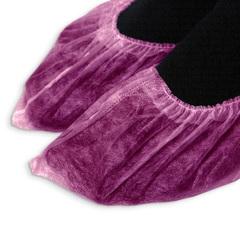 Одноразовые носки розовые, спандбонд, 100 шт./уп.