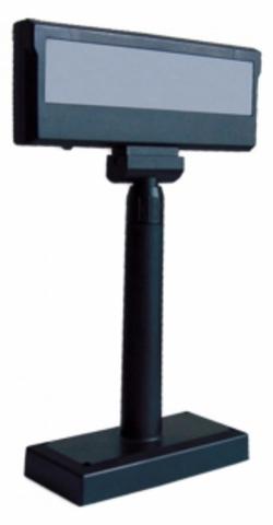 Дисплей покупателя LPOS-II-VFD USB, черный