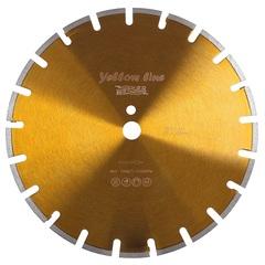 Алмазный диск по асфальту MESSER 350х25,4 мм Yellow Line