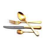 Набор матовый 24 пр ALCANTARA GOLD, артикул 9292, производитель - Cutipol