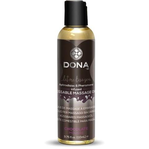 Массажное масло Dona со вкусом шоколадного мусса