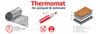 Thermo Нагревательный мат под ламинат Thermomat (термомат) for parquet & laminate TVK-130 LP 2 м.кв