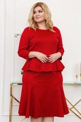 Платье MT10198 красное