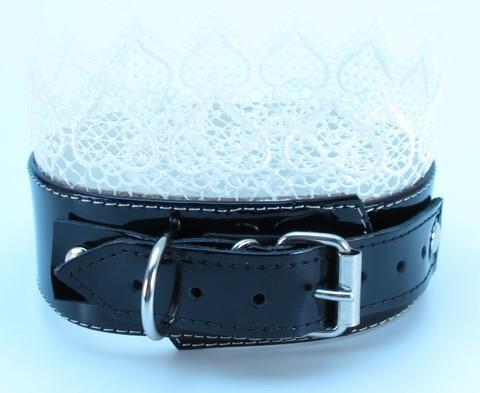 Изящный БДСМ ошейник-чокер с кружевом BDSM Light (BDSM Арсенал)