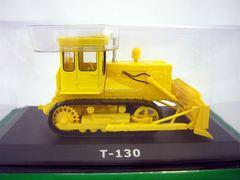 Tractor T-130 Bulldozer 1:43 Hachette #59