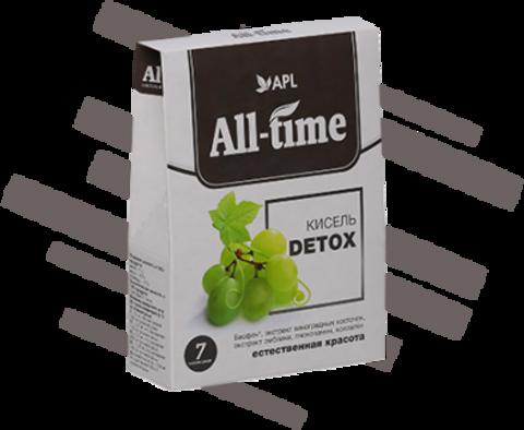 APL. Кисель All-Time Detox с очищающим комплексом и Биофеном 7 пакетиков по 20 г