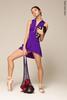 Юбка + Шорты Тянутся colour | фиолетовый