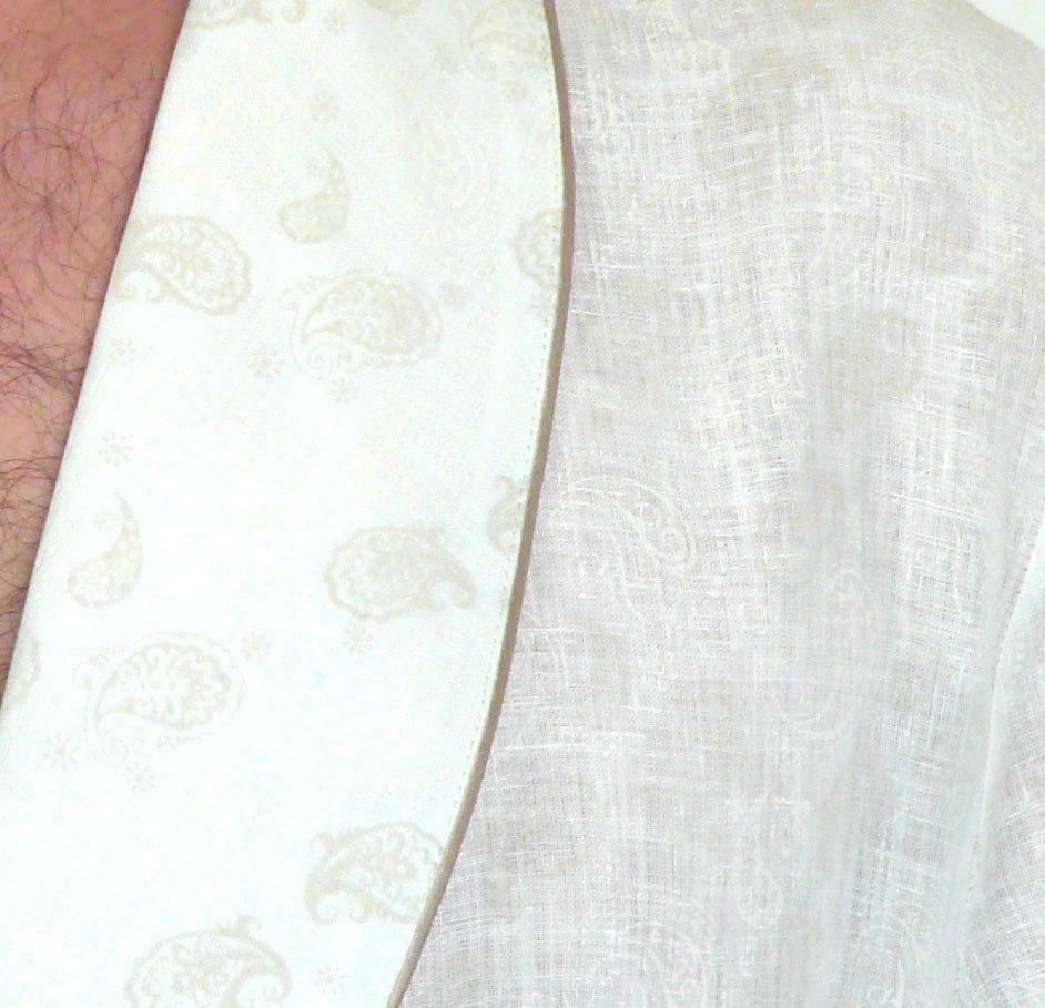 Мужской халат из льна B&B