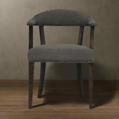 Кресло Roomers Катти серое