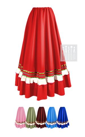 Фото Казачка Астраханская юбка женская рисунок Выбирайте лучший казачий костюм в Мастерской Ангел. Мы специализируемся на народной, в том числе, казачьей одежде!