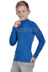 Терморубашка из шерсти мериноса с высоким горлом Norveg Soft Teens City Style Niagara детская