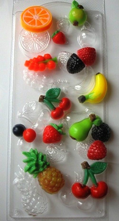 Фруктовое ассорти, форма пластиковая